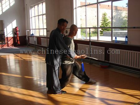 learn wudang sword with master