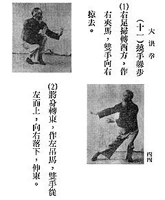 shaolin Dahong forms