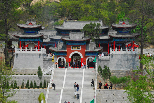 Taoism temple of kunyu mountain