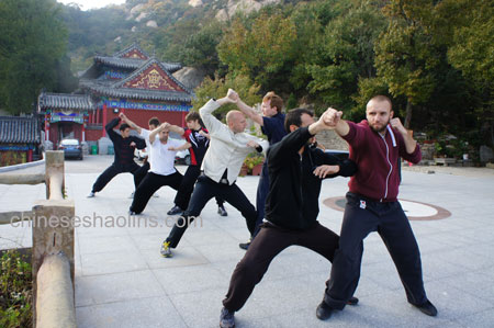 Application Training in Taoism Temple