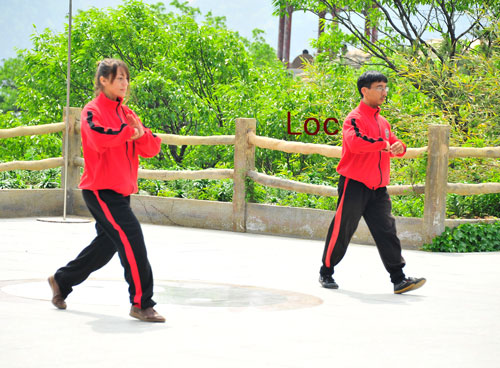 student loc from Kunyu mountain shaolin martial arts academy