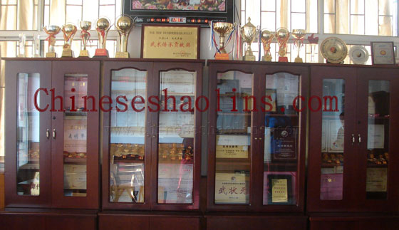 School Honor-Kunyu mountain shaolin kung fu academy