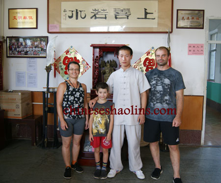 Family review for summer Camp in Kunyu mountain shaolin martial arts academy China