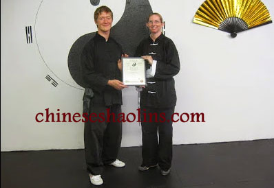 Andrew opened his own kung fu school in USA.