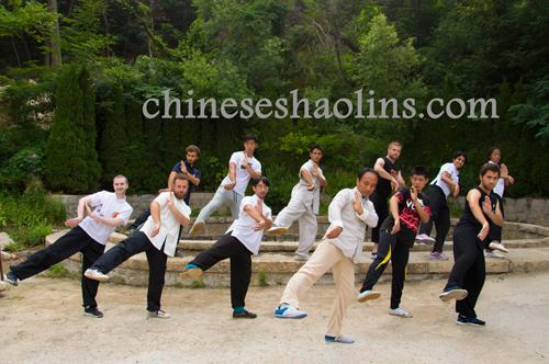 Train Chinese Baji Chuan in Kunyu mountain martial arts academy