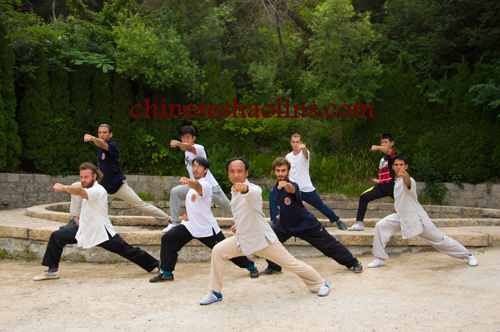Baji Chuan-Kunyu Mountain shaolin academy China