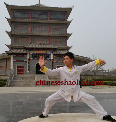 Tai Chi Chuan performed by Headmaster of Kunyu mountain academy