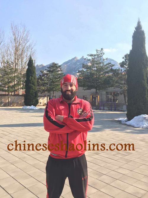 Christopher stayed for one year in China Kunyu mountain Shaolin martial arts academy China