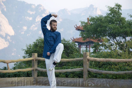 Yann trained Kung fu here for more than One year.-Kunyu mountain academy Review
